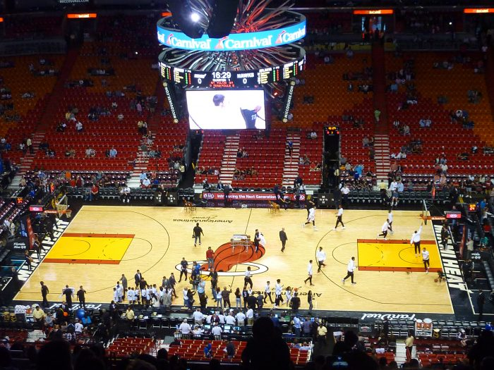 Match de NBA / Miami Heat : Atlanta Hawks