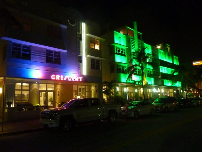 Ocean Drive, le quartier des bars branchés de South Beach