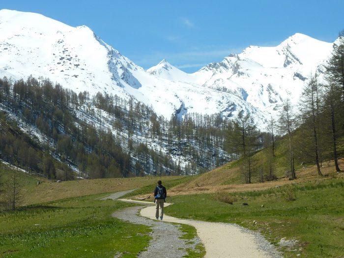 Chemin dégagé, sommets enneigés : tout va bien