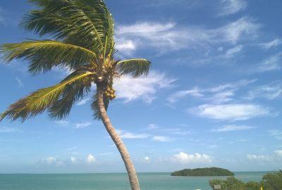La plage idyllique de Floride