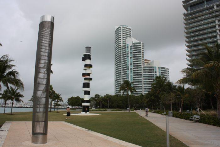 Parcours urbain le long de l'Océan