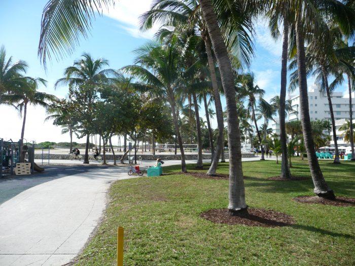 6 km de piste cyclable le long de l'océan
