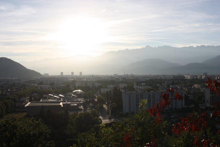 Première vue de la vallée