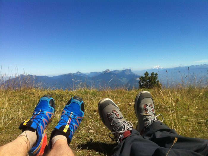 Randonnée et course à pied