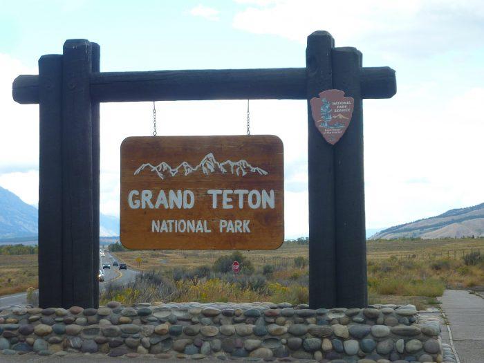 Arrivée à Grand Teton
