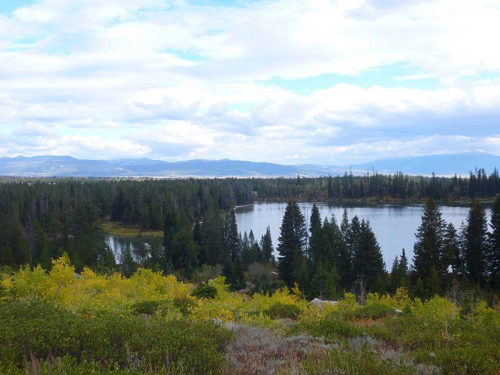 Randonnée à Grand Teton autour de String Lake