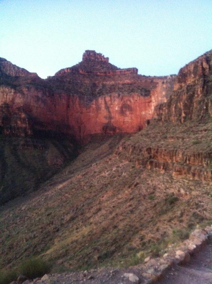 Le Grand Canyon dévoile progressivement sa beauté