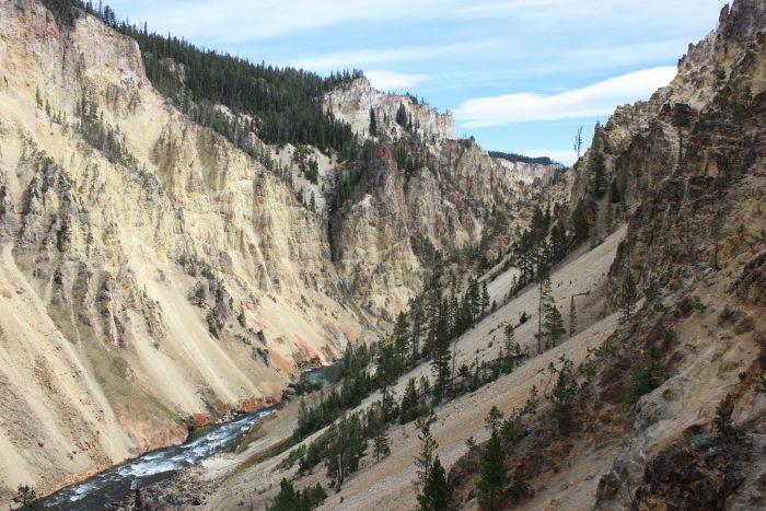 Que de points de vue le long du Trail