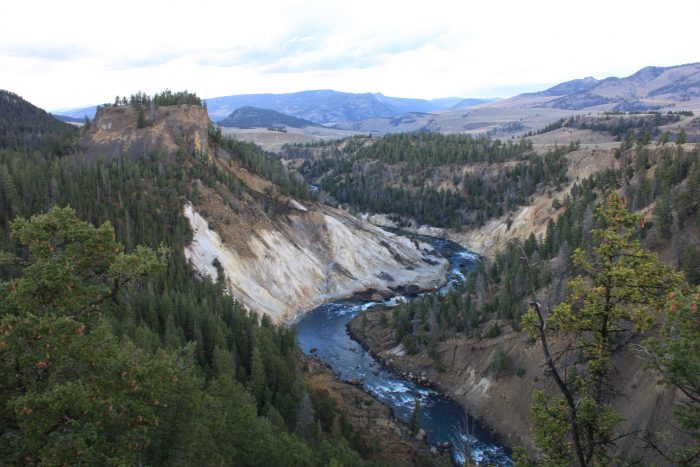 La Yellowstone River